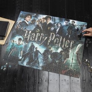 Harry Potter poszter - 1000 darabos puzzle