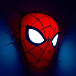 Spiderman 3D LED lámpa