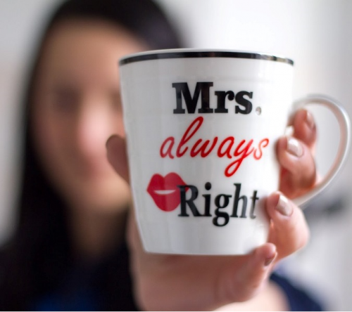 Mr Right & Mrs Always Right bögrék (2 db)