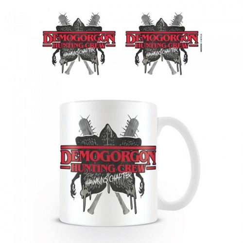 Stranger Things Demogorgon Hunting Crew bögre